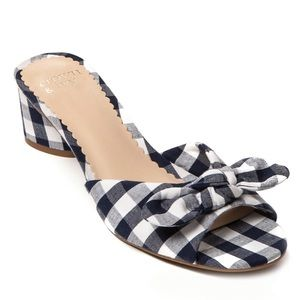 CROWN & IVY Winnie Slides Size 8.5